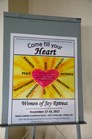 2017 11 Women of Joy  retreat with Father Brian Kerr