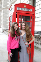 Madeleine and her sister Grace in London for Worlds
